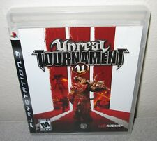 UNREAL TOURNAMENT III PlayStation 3 PS3 EPIC Games Shooter Midway