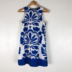 Zara Woman Floral Shift Dress Sz S