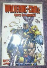 Wolverine Cable Guts And Glory Prestige Format Comic Joe Casey Stephen Platt lot