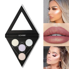 Fashion Cosmetic Blush Bronze Highlight & Contour Powder Palette Makeup Gift