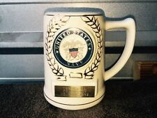Us Navy Stein Mug From 1992 Reunion - Great Condition
