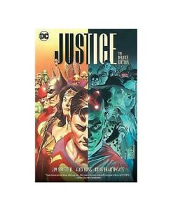 Justice: The Deluxe Edition , Justice DC by Jim Krueger #57158*