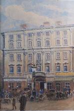 Stampa incorniciata-Pittura di Vienna da Adolf Hitler (REPLICA opera d'arte Foto Art)