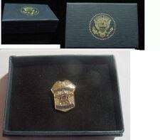 Presidential secret service shield lapel pin