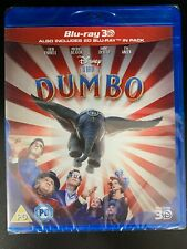 Dumbo - 3D Blu ray + 2D Blu ray - Official UK Stock New & Sealed (Tim Burton)