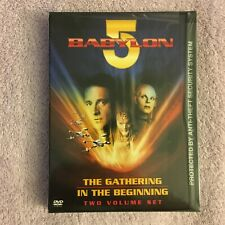 Babylon 5 - The Gathering/In the Beginning (DVD, 2001, FS, WS) Brand New Sealed