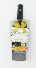 Wine Bottle Gift Tags With Set of 6 Wine Charms Each