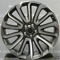 "GENUINE RANGE ROVER L405/494 SPORT AUTOBIOGRAPHY 22"" STYLE 7007 ALLOY WHEEL X1"