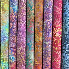 Bali Batik Floral 100% Algodón Patchwork Tela 114cm Ancho MK903 Mtex