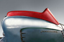 LAMBRETTA GORI STYLE SEAT HINGED IN OXBLOOD RED
