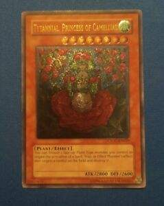 Lightly Played Yugioh Tytannial, Princess of Camellias - Ultimate Rare Unlimited
