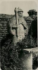 CHINE Tombeau Photo originale Vintage 9x14cm, ca 1925