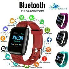 116 Plus Black Smart Watch Wristband Bracelet Pedometer Sport Fitness Tracker