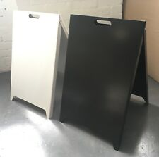 2 of Metal Steel Advertising Sign, A-Board Sign, Pavement Sign Board, Made in GB