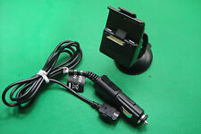 Garmin NUVI 600 610 650 660 670 680 GPS Cradle Holder Clip Mount Charger Genuine