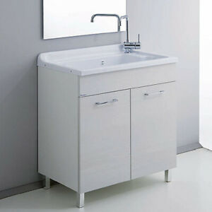 Waschküche cm 70x40 mit ABS Badewanne Medusa - Made in Italy