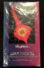 Star Trek VI: The Undiscovered Country Trading Card Full Set Sealed Box Complete