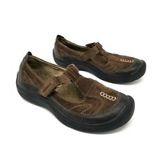 40557ecee9f Cobbie Cuddlers Womens Brown Size 6.5 W Eileen Suede Mary Janes Comfort Shoe