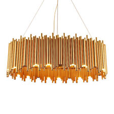 Grand Ovale Magasin Bricolage Lustre Up & Down avec 25 Led. B120 Cm. Pass.