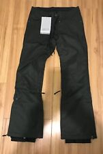New Nikita Womens Snowboard Pants JET BLACK  Medium 10k 8k
