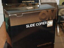 OLYMPUS OM SLIDE COPIER FOR AUTO MACRO BELLOWS NEW IN BOX