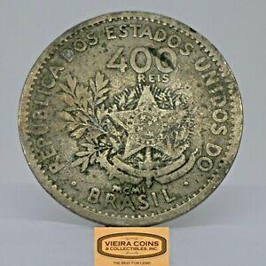 1901 Brazil 400 Reis, Free Shipping  -  #C21548NQ