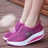 Damen Turnschuhe Laufschuhe Flache Sneaker Sportschuhe Freizeit Plateauschuhe