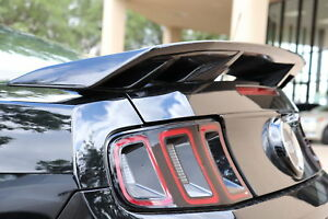 """PAINTED """"California Special Style"""" 4 Post Spoiler Fits 2010-2014 Ford Mustang"""