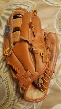SPALDING All LEATHER RIGHT HAND GLOVE YOUTH BASEBALL THE FRANCHISE PRE-OWNED