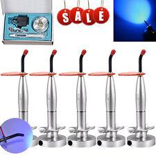 1 5pcs Dental Led Curing Light Lamp 1500mw Wireless Cordless Cure Original Tips