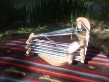 Nice Sturdy Portable Rustic Baby Inkle Weaving Loom /Tool/Instructions