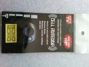Two Signal Boosters For Mobile Cell Phones Internal Antenna-Verizon,AT&T,Sprint