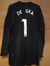 DAVID DE GEA - SIGNED MANCHESTER UNITED SHIRT 2018 SHIRT, SPAIN, WITH PROOF!!