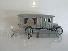 PRECISION MINIATURES 1921 FORD MODEL T HEARSE - GREY SCALE 1:18 PMSC-07G