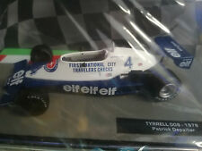 Formula 1 Auto MODELLINO  1/43 TYRREL 008-1979 -PATRYCK DEPAILLER. f1