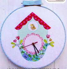 PATTERN - Cuckoo Clock - cute applique design MINI PATTERN