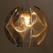 Lámpara colgante de iluminación de techo de interior transparentes de plástico