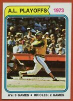 1974 Topps #470 Reggie Jackson EX-EXMINT Oakland Athletics New York Yankees