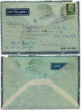 ITALY WW2 IMPOSSIBLE TO FORWARD MILITARY 221 ADDRESS 1943 AIRMAIL