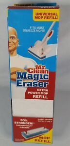 Mr Clean Magic Eraser Extra Power Heavy Cleaning Universal Mop Refill