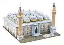 Bursa Grand Mosque Ulu Cami Ottoman Turkey Travel Tour Souvenir 3D Puzzle Model
