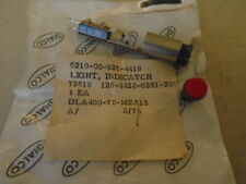 1 EA NOS DIALIGHT RED PANEL INDICATOR LIGHT  P/N: 126-4428-0351-200