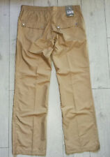"""*NEW* J.Lindeberg  """"36"""" Tyrell Micro Twill Sand Mens Golf Pants Trousers"""