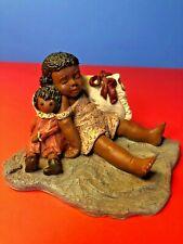"""All God's Children"", Martha Holcombe Figurine Artwork, ""Caitlin"" #4, (1992)"