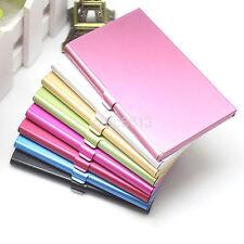 Aluminum Practical Pocket Business Name Credit ID Card Case Metal Box Holder AU