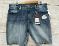 Company 81 Shorts Mens Size 36 Lightning Wash Stretch Denim Jeans Shorts New