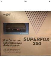 Nos Superfox 350 Radar Detector