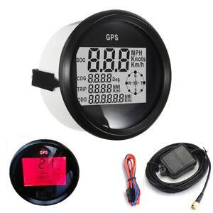 Car Truck Boat Motorcycle GPS Digital LCD Speedometer MPH SOG COG ODO TRIP Meter