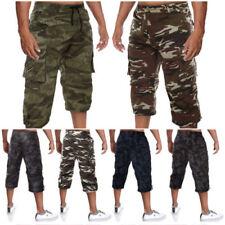 Herren-Shorts & -Bermudas aus Baumwollmischung mit Stretch in Plusgröße