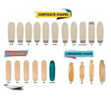 Monopatín tablas skate skateboard cruiser longboard wood madera shape shapes